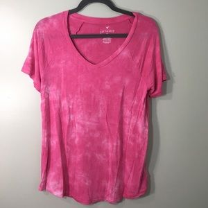 Pink Soft and Sexy American Eagle tee